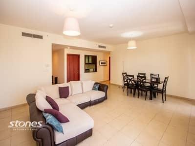 2 Bedroom Apartment for Sale in Jumeirah Beach Residence (JBR), Dubai - Panoramic Marina View Spacious Unit On High Floor