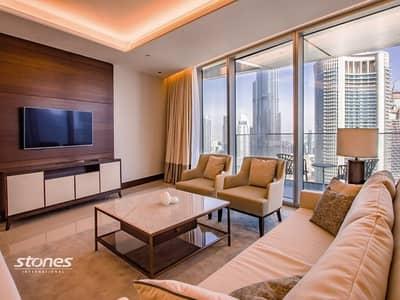 فلیٹ 5 غرف نوم للبيع في وسط مدينة دبي، دبي - Brand New Premium Unit With Exceptional Burj View