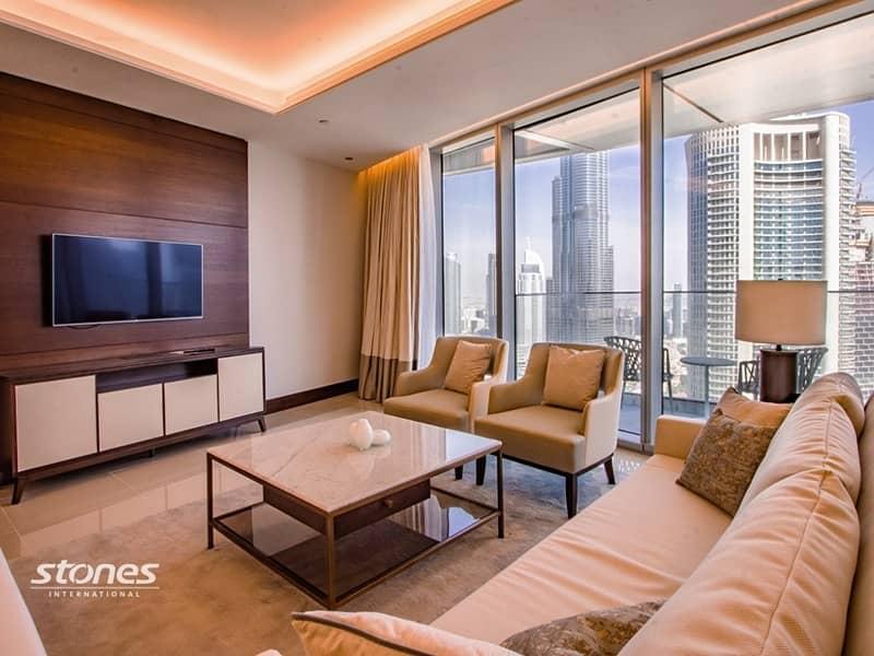 Brand New Premium Unit With Exceptional Burj View