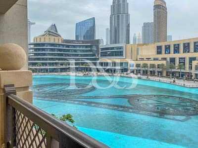 1 Bedroom Apartment for Rent in Downtown Dubai, Dubai - 1Bed |Fully Furnished |Full Fountain View