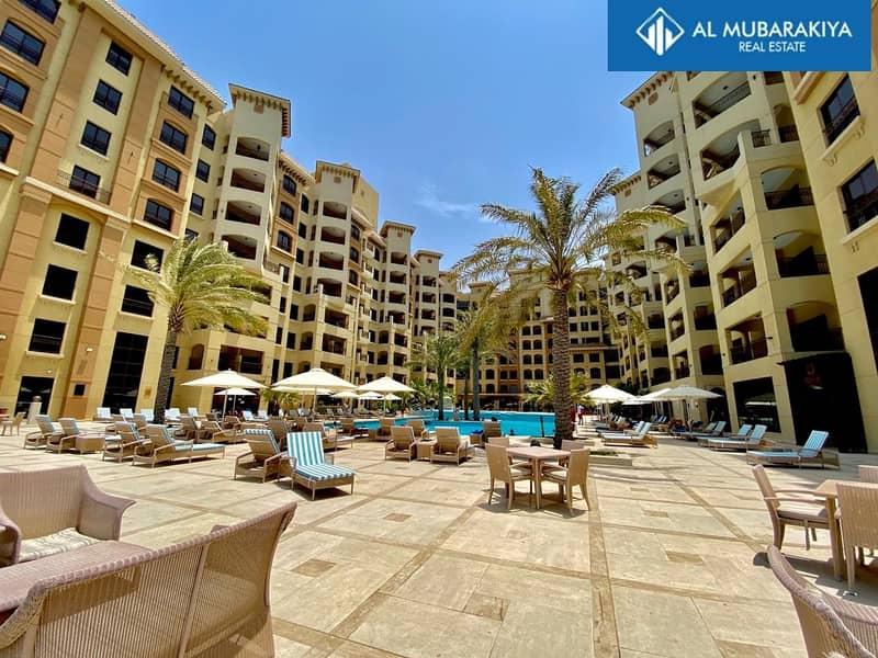 Luxury 1 BR in 5* Resort Hotel Marjan Island