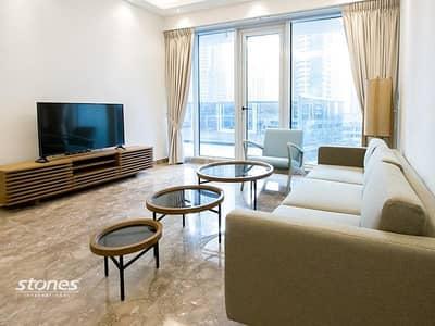 فلیٹ 2 غرفة نوم للايجار في دبي مارينا، دبي - Fully Furnished and Full Marina View
