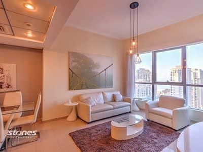 2 Bedroom Apartment for Rent in Dubai Marina, Dubai - Alluring Apartment With Breathtaking Marina View