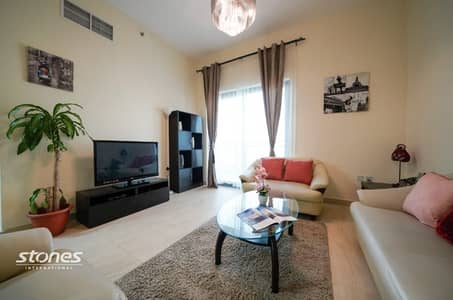 2 Bedroom Apartment for Sale in Al Furjan, Dubai - Elegantly Furnished Unit with Community View