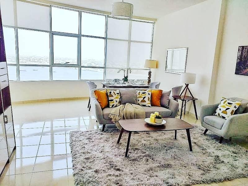 شقة في أبراج أورينت البستان 2 غرف 602000 درهم - 4704441