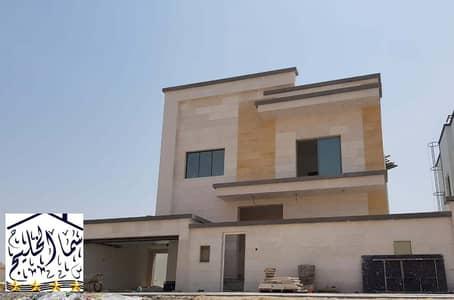 New villa near the main street, personal finishing, super quality, close to Sheikh Ammar Bridge directly