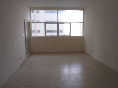 1 Bedroom Apartment for Rent in Al Sawan, Ajman - One bedroom and hall for rent in ajman one tower with parking and partial sea view very neat and clean flat