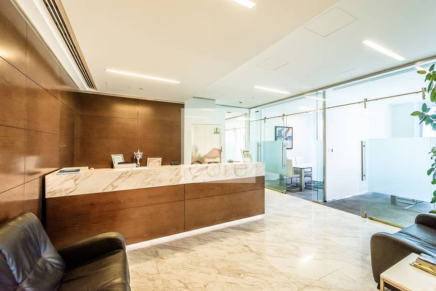 2 Fitted and Furnished Office | Prime Location