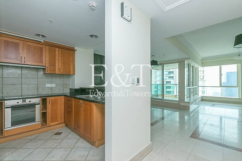 2 Upgraded and Vacant on High Floor with Marina View