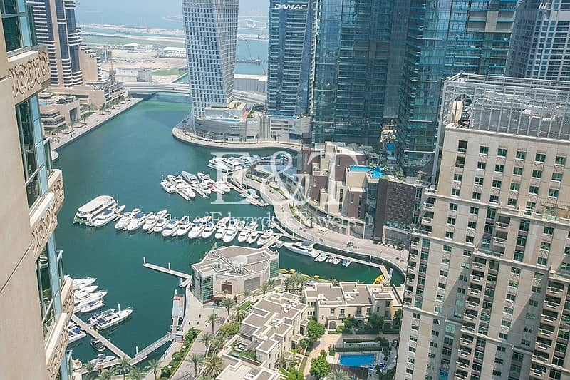34 Upgraded and Vacant on High Floor with Marina View