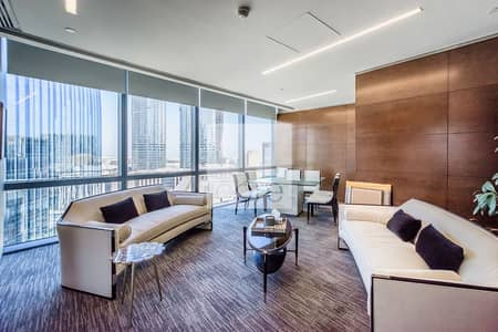 Office for Rent in Downtown Dubai, Dubai - Combined Fitted and Furnished Unit | Parking