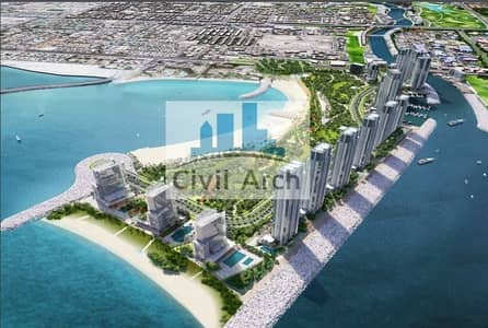 Plot for Sale in Jumeirah, Dubai - 3B+G+12 Waterfront+pay in 5 years 308494 GFA