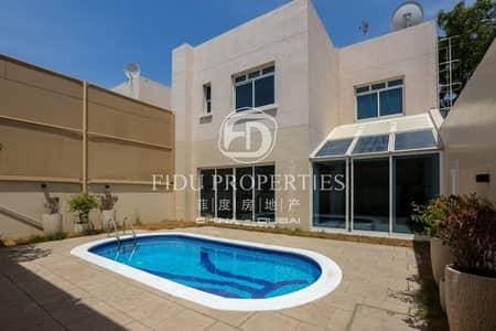 فیلا 4 غرف نوم للايجار في الوصل، دبي - Beautiful Spacious Bright Villa With Private Pool