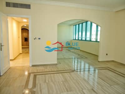3 Bedroom Apartment for Rent in Al Markaziya, Abu Dhabi - 6 Cheques|No Fee 3 Master Bedroom