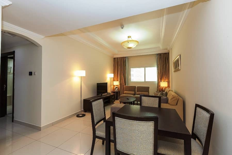 Furnished 2BHK Al Barsha 58k only