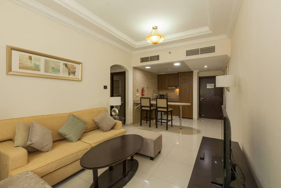 2 Furnished 2BHK Al Barsha 58k only