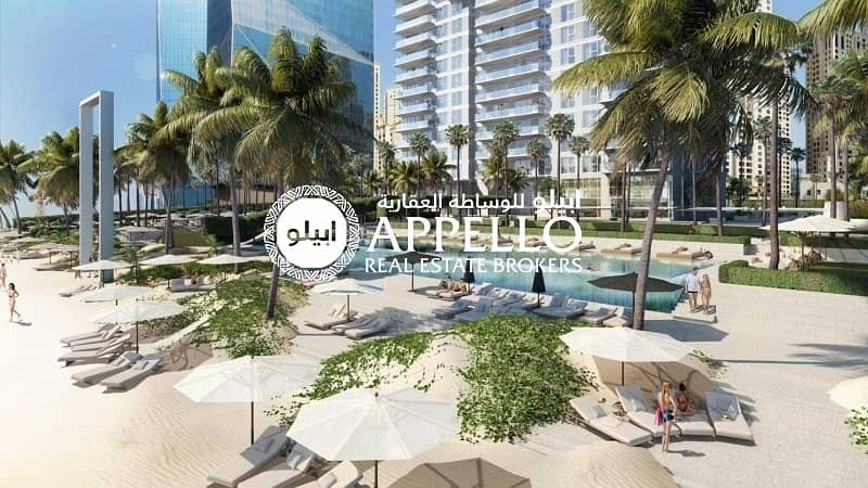 8 Live by the beach at JBR with Sea and Palm View