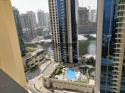 3 Bedroom Flat for Rent in Jumeirah Beach Residence (JBR), Dubai - Marina View Spacious 3 bedrooms + Maid