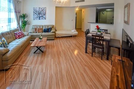 2 Bedroom Flat for Rent in Dubai Marina, Dubai - 2 Bed   Furnished   Upgraded   High Floor