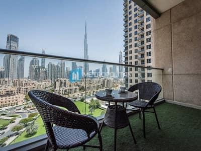 3 Bedroom Flat for Sale in Downtown Dubai, Dubai - STUNNING BURJ VIEW | 3 BEDROOM i MIDDLE FLOOR