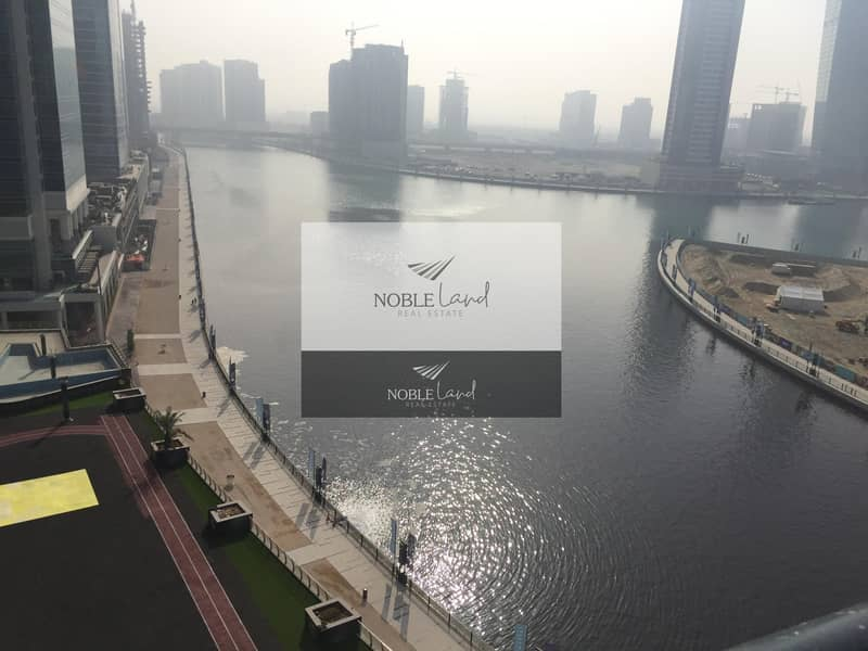 10 2 BED ROOM WITH FULL CANAL VIEW FOR SALE IN BUSINESS BAY