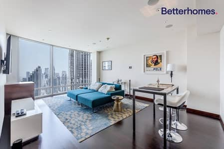 فلیٹ 1 غرفة نوم للبيع في وسط مدينة دبي، دبي - Spacious Unit | High Floor| Burj Khalifa
