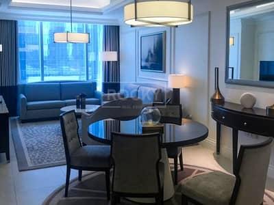 1 Bedroom Flat for Rent in Downtown Dubai, Dubai - 1-Bed | Full Burj Khalifa View | Downtown