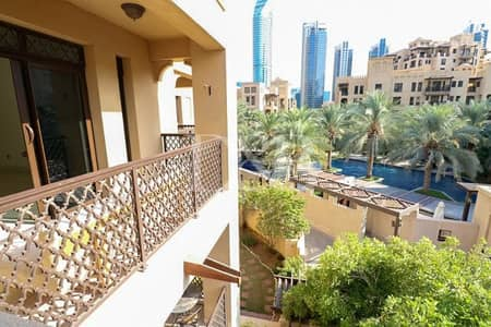 1 Bedroom Flat for Rent in Old Town, Dubai - 1 Plus Study | Largest Layout | Pool View