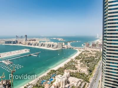 3 Bedroom Apartment for Rent in Dubai Marina, Dubai - Exclusive and Managed | Spectacular Sea Views