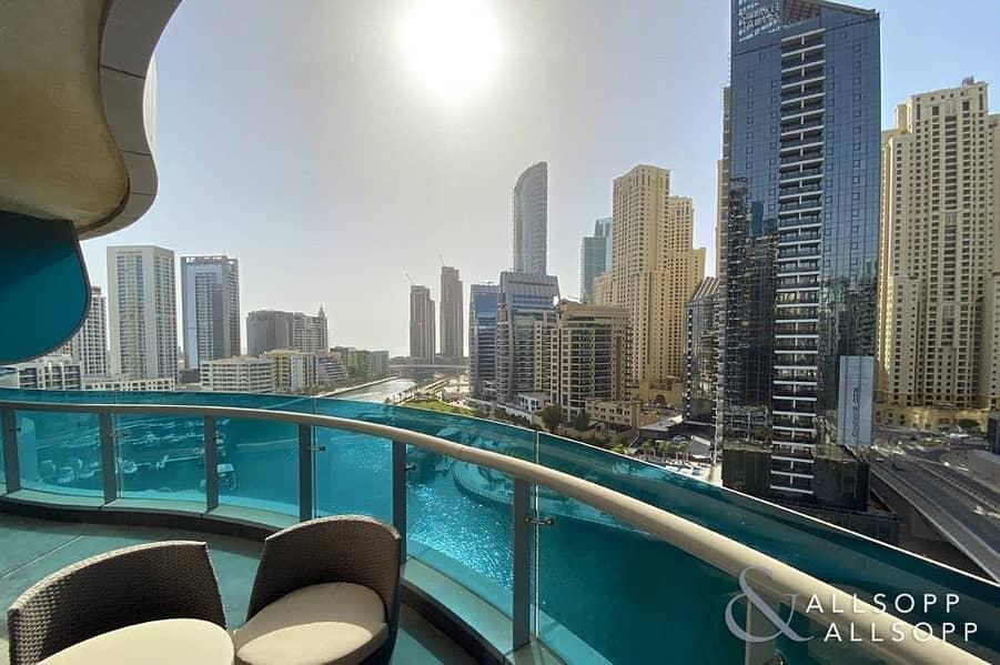 10 Huge Terrace Balcony | Full Marina Views