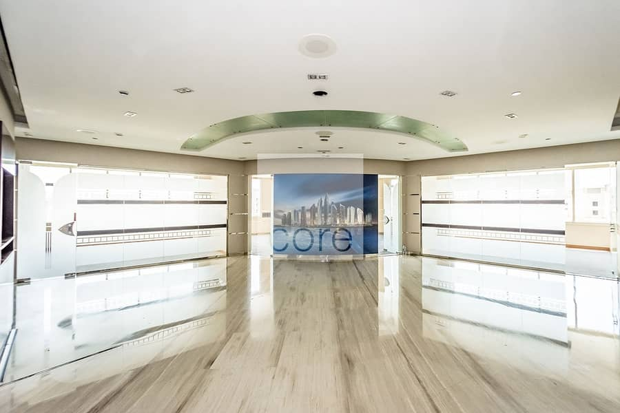 Fitted office on low floor | Damac Executive