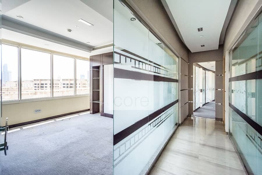 2 Fitted office on low floor | Damac Executive