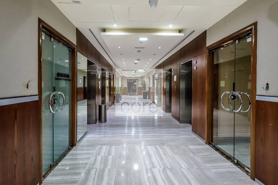10 Fitted office on low floor | Damac Executive