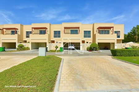 3 Bedroom Villa for Sale in Al Raha Gardens, Abu Dhabi - Elegant 3 BR Villa Type S with Study in Great Location