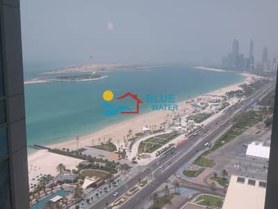 2 Bedroom Flat for Rent in Corniche Area, Abu Dhabi - No Commission ! Stunning 02 Bedroom apartment with Sea View + 2 Parkings
