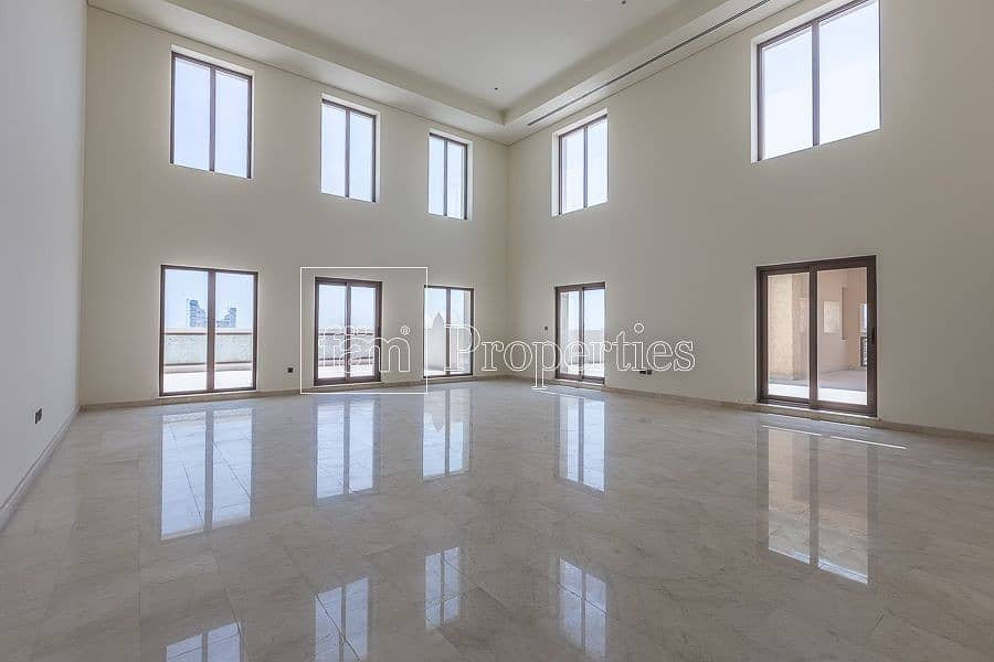 Brand New Royal Penthouse|360 view of Dubai