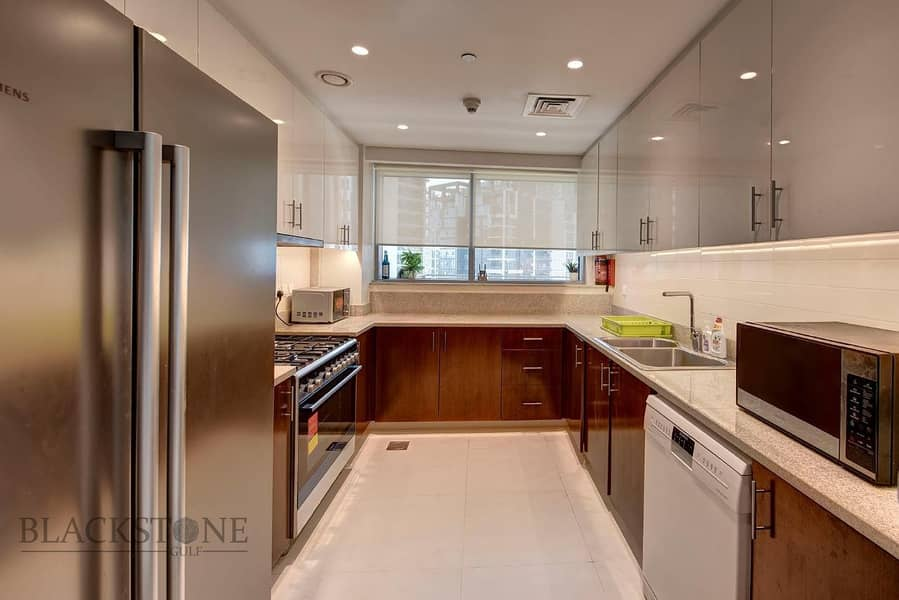 2 Fully Furnished 2 BR + Study | Pool View | Chiller Free