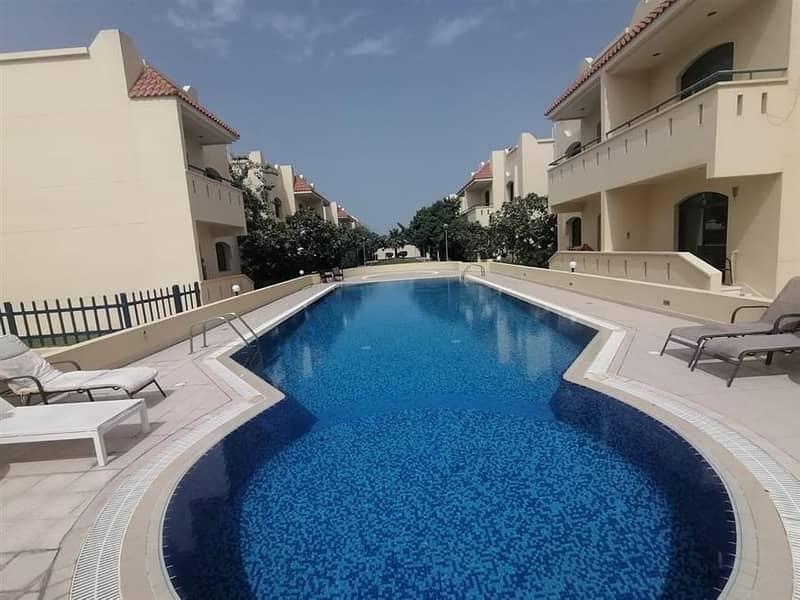 3 Bed compound villa With Pool and gym