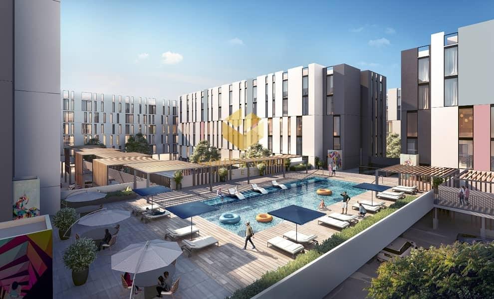 2 The cheapest 2 Bedrooms l in Al Jada downtown Sharjah l The prestigious l New Address l very low price