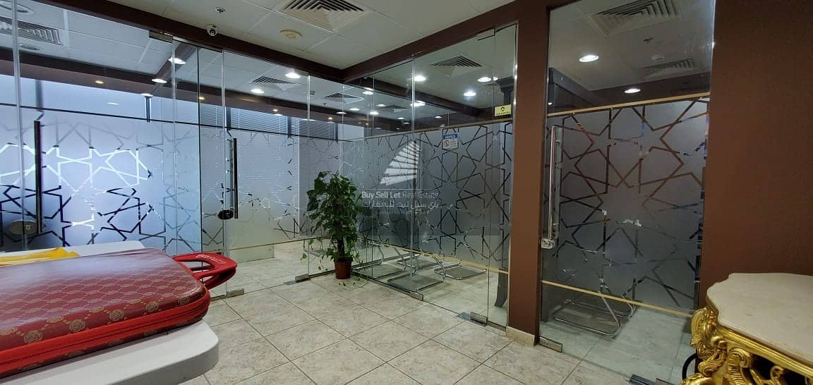 2  Furnished Partitioned Offices  