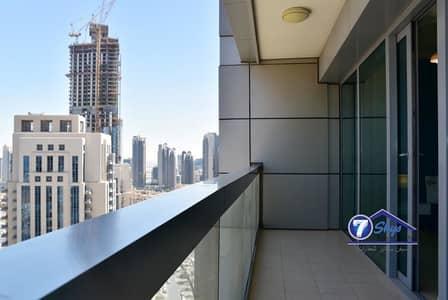 2 Bedroom Flat for Rent in Downtown Dubai, Dubai - Large 2BR Unfurnished 8 BOULEVARD WALK w/Balcony