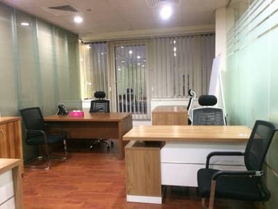 مکتب  للايجار في شارع الشيخ زايد، دبي - Complete Office Solution w/ Ejari in Nadia Business Center