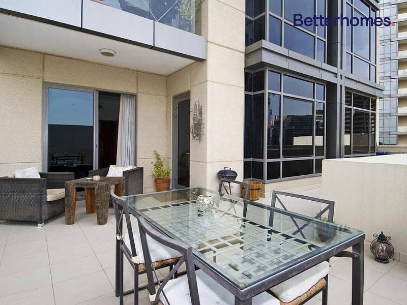 2 Private Terrace   Furnished   Exclusive