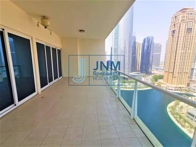 2 Bedroom Flat for Rent in Jumeirah Lake Towers (JLT), Dubai - Stunning 2 Beds with Full Lake View | Mid Floor