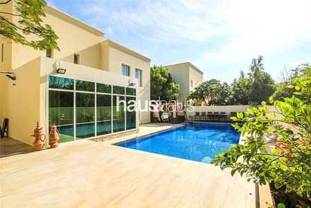 3 Bedroom Villa for Rent in The Meadows, Dubai - Single Row | Upgraded | Extended | Close to Park