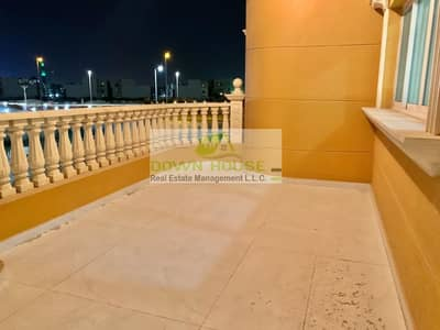 1 Bedroom Flat for Rent in Khalifa City A, Abu Dhabi - Hot Deal !! brand New 1 bhk With Balcony In khalifa A