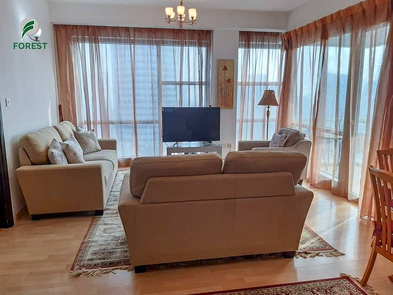 2 Furnished | Vacant |Ensuite 2BR | Partial Sea View