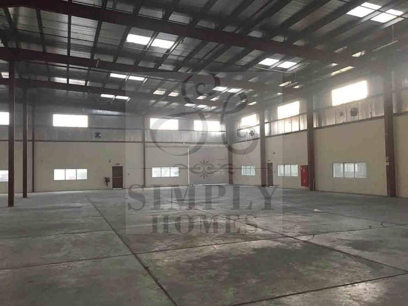 8 Large Warehouse | Docking Bay | High Power