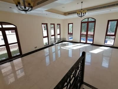 6 Bedroom Villa for Rent in Jumeirah Golf Estate, Dubai - Gated Community located on the Edge of the Golf Course