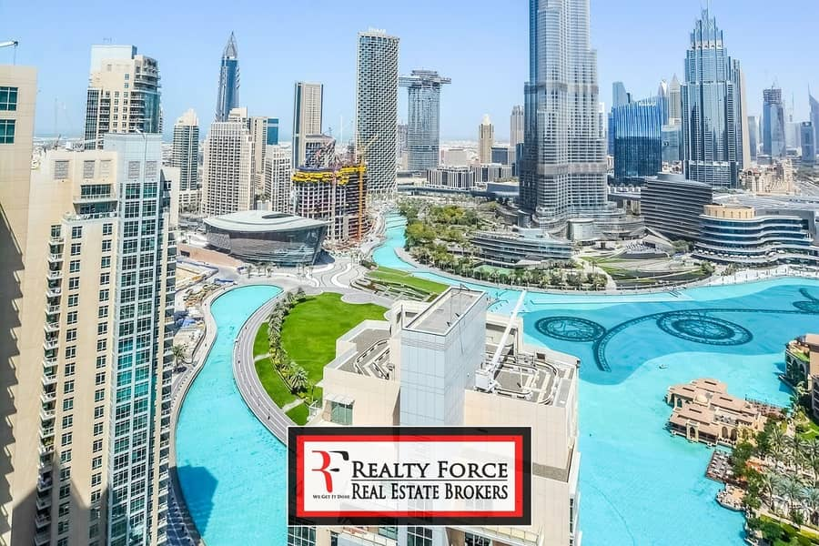 EXCLUSIVE |FULL BURJ & FOUNTAIN VIEW |BEST PRICE